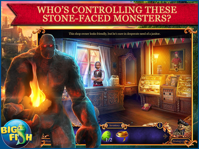 Screenshot for Royal Detective: Legend Of The Golem Collector's Edition