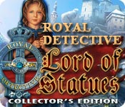 software logic puzzles hidden object mystery software casual games adventure games  Royal Detective: The Lord of Statues Collectors Edition
