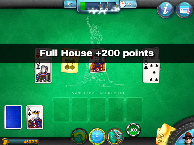 Royal flush solitaire ipad iphone android mac pc for Royal flush fishing