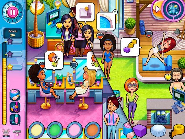 Sally's Salon: Kiss & Make-Up Screen3