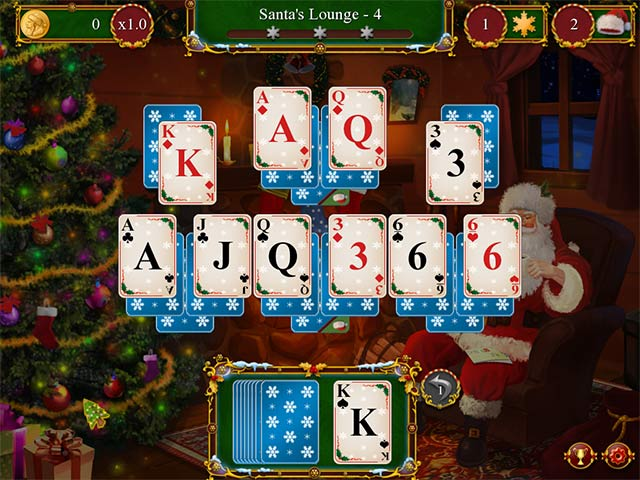 Christmas Solitaire.Santa S Christmas Solitaire Ipad Iphone Android Mac