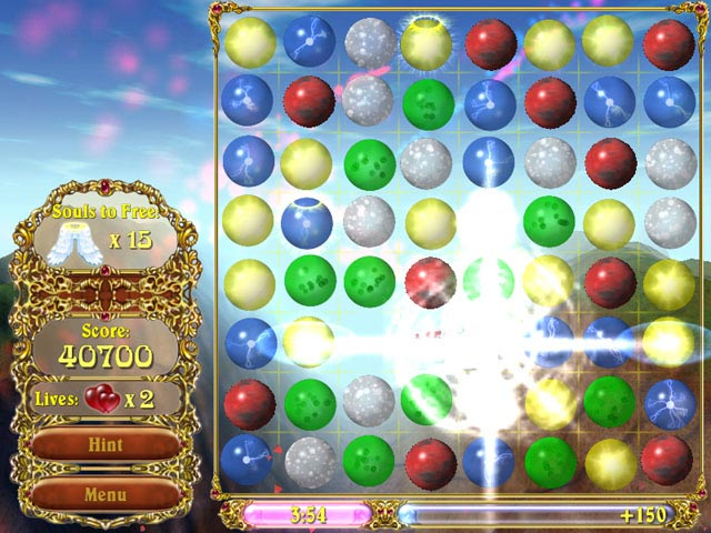 Sky bubbles ipad iphone android mac pc game big fish for Bubble fish game