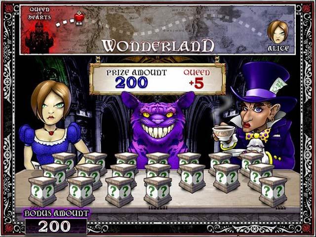 Alice In Wonderland Games: Slot Quest: Alice In Wonderland > IPad, IPhone, Android