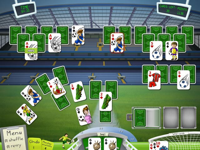 Soccer cup solitaire ipad iphone android mac pc for Big fish solitaire games