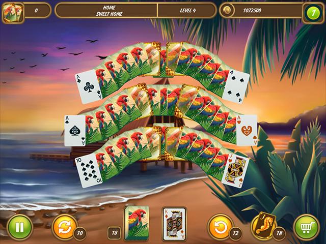 Solitaire Beach Season: A Vacation Time - Screenshot