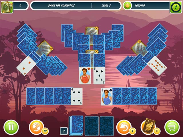 Solitaire beach season ipad iphone android mac pc for Big fish solitaire games