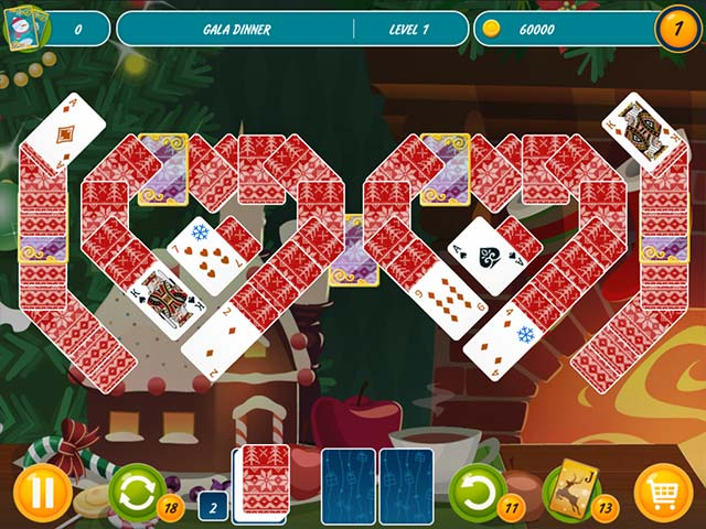 Solitaire Christmas Match 2 Cards Ipad Iphone Android Mac Pc