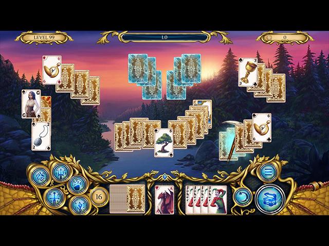 Solitaire Dragon Light - Screenshot
