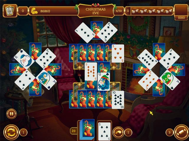 Solitaire Game: Christmas > iPad, iPhone, Android, Mac & PC