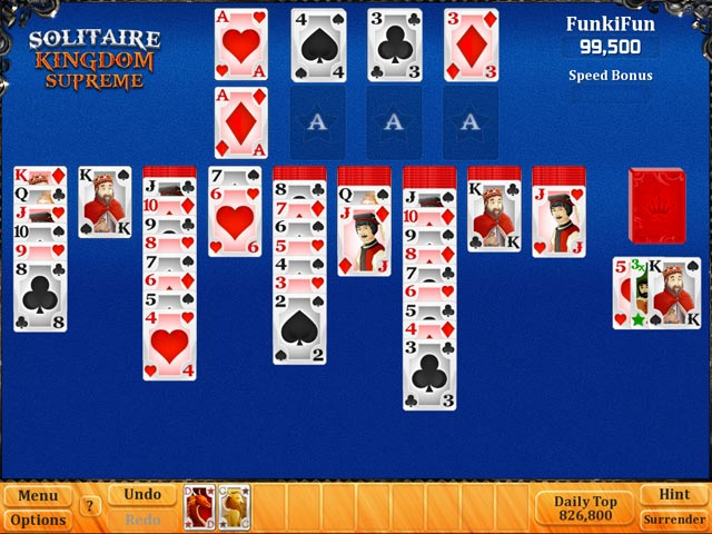 Solitaire kingdom supreme ipad iphone android mac for Big fish solitaire games