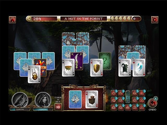 Solitaire Quests of Dafaris: Quest 1 - Screenshot