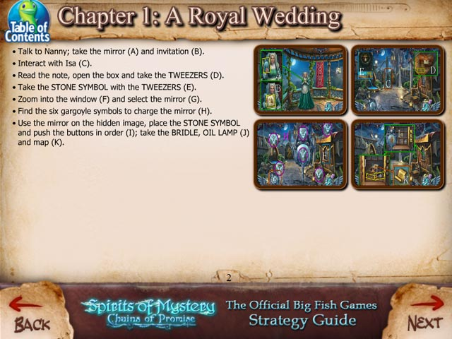 Spirits Of Mystery Chains Of Promise Strategy Guide Ipad Iphone