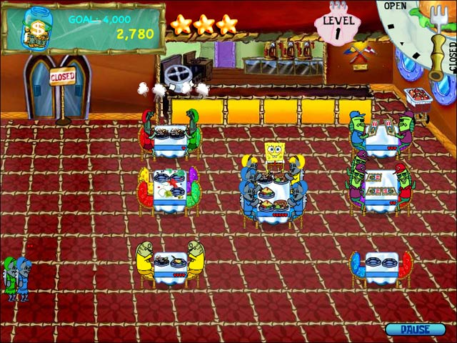 Video for SpongeBob SquarePants Diner Dash