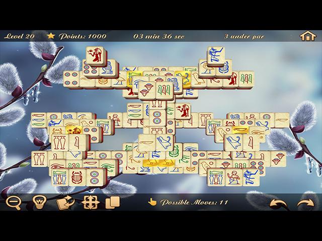 Springtime Mahjongg 2 - Screenshot