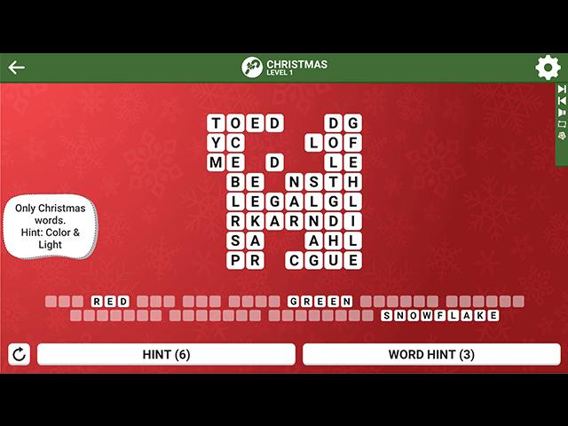 Square Word: Christmas Edition - Screenshot