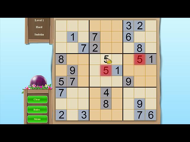 Sudoku Vacation - Screenshot
