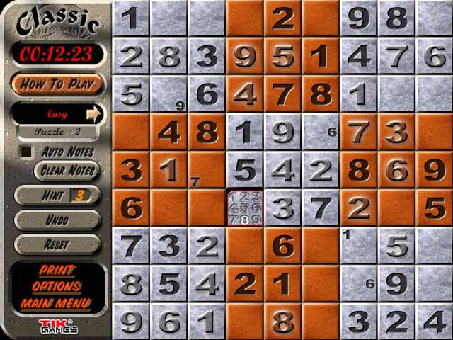 Video for Sudoku Latin Squares