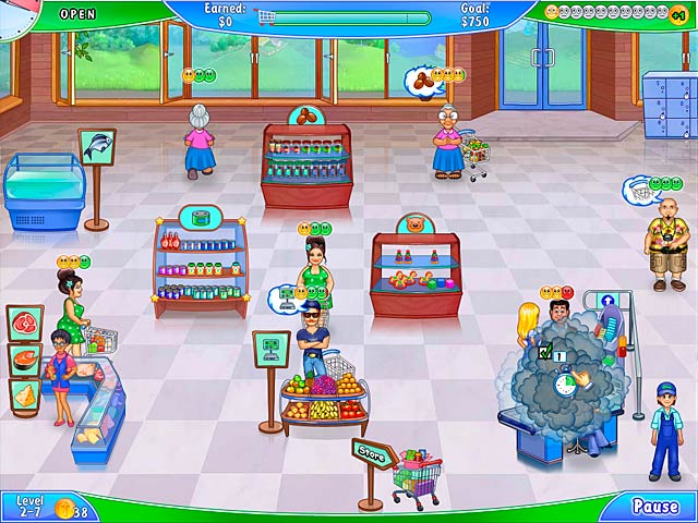 Video for Supermarket Management 2