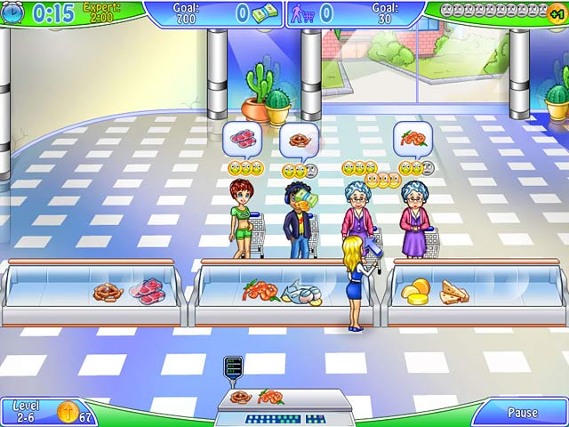 Supermarket management ipad iphone android mac pc for Big fish games free download full version