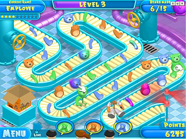 Teddy factory ipad iphone android mac pc game big for Big fish game manager download