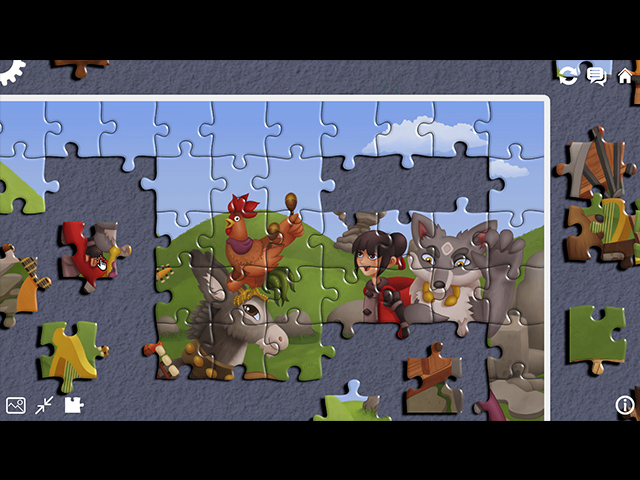 The Adventures of Wolf and Hood: A Jigsaw Tale - Screenshot
