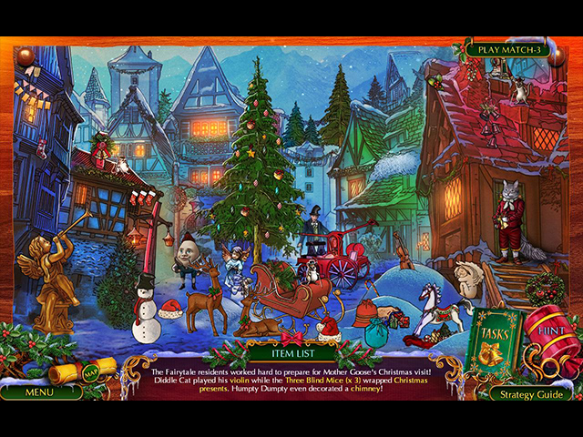 The Christmas Spirit: Mother Goose's Untold Tales - Screenshot 3