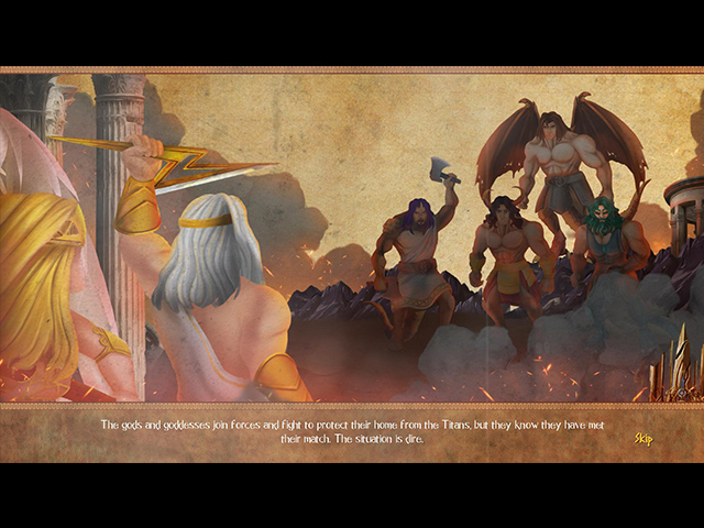 The Chronicles of Hercules II: Wrath of Kronos - Screenshot