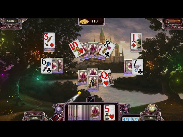 The far kingdoms age of solitaire ipad iphone android for Big fish solitaire games