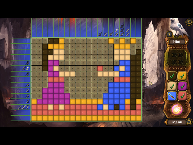 The Far Kingdoms: Magic Mosaics 2 - Screenshot
