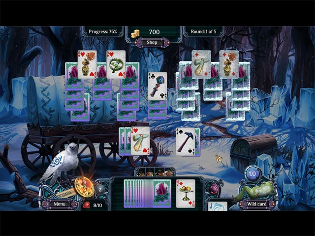 Video for The Far Kingdoms: Winter Solitaire