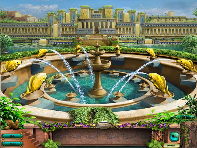 Hanging Gardens of Babylon > iPad, iPhone, Android, Mac & PC Game ...