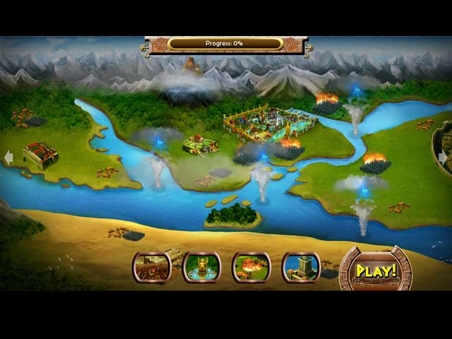 The Trials of Olympus III: King of the World Screen2