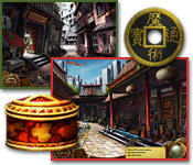 software logic puzzles hidden object mystery software casual games adventure games  Tiger Eye   Part I: Curse of the Riddle Box