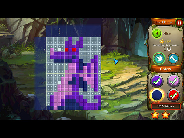 Time Twins Mosaics Tales of Avalon - Screenshot