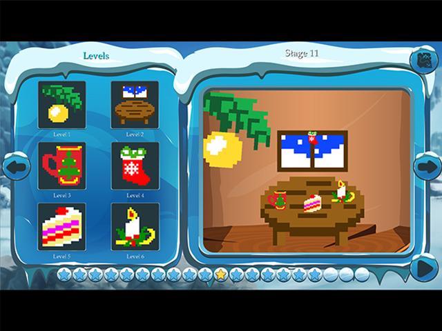 Time Twins Mosaics: Winter Splash - Screenshot