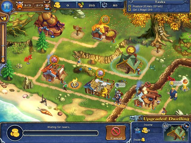 Times of vikings ipad iphone android mac pc game for Big fish games android