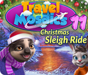 (Game Free) Travel Mosaics 11: Christmas Sleigh Ride