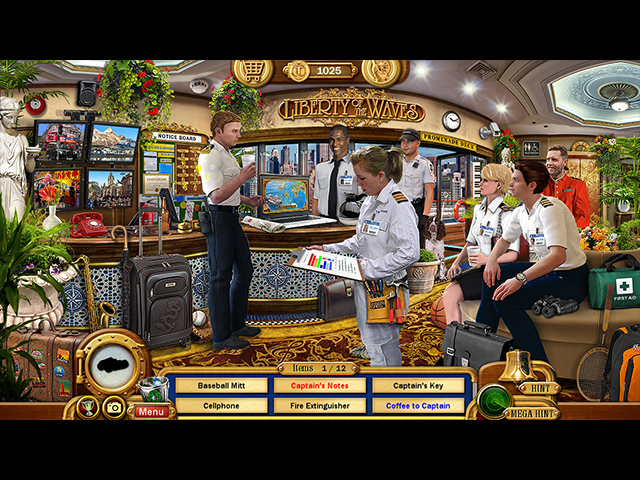 Vacation Adventures: Cruise Director 7 - Screenshot 1