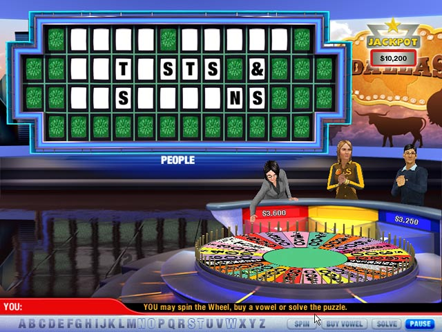 play wheel of fortune 2 online free no download