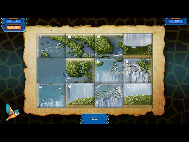 Wilderness Mosaic 3: Photo Safari - Screenshot