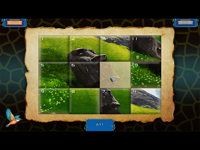 Wilderness Mosaic 4: Easter Island - Screenshot