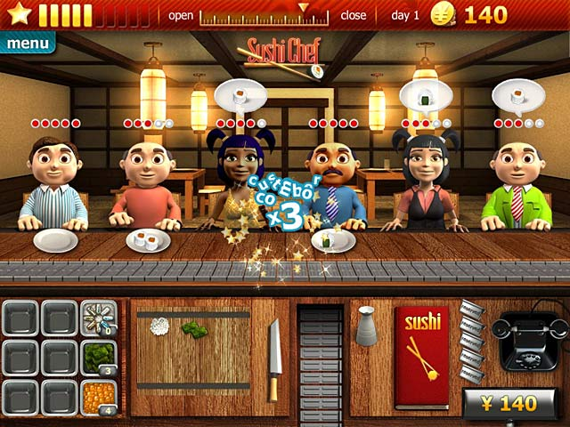 Youda sushi chef 2 game for pc highly compressed free download.