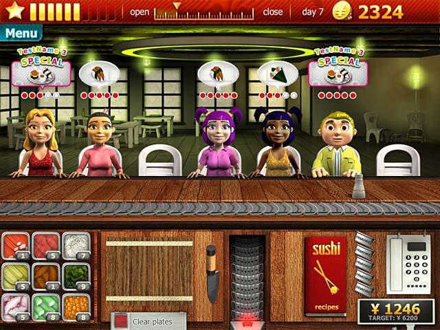 Play Sushi Bar Online Games