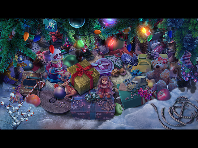Yuletide Legends: Who Framed Santa Claus - Screenshot 2
