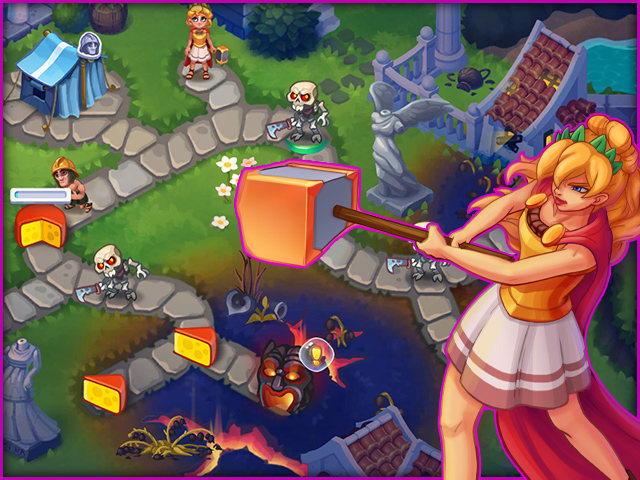 Alexis Almighty: Daughter of Hercules Collector's Edition screen2