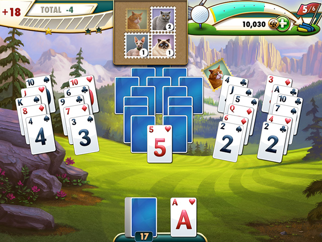 Pantallazo de Fairway Solitaire