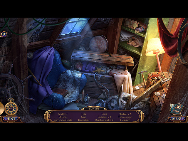 Grim Tales: The Nomad Collector's Edition en Español game