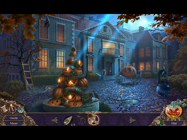 Haunted Manor: Halloween's Uninvited Guest Collector's Edition screen1