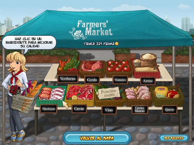 Restaurant rush ipad iphone android mac pc game for Big fish seafood bistro