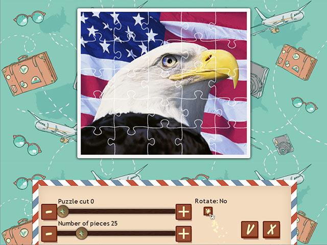 Tour du Monde en 1001 Puzzles: Amérique screen1